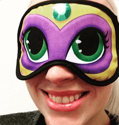Sleepmask with logo